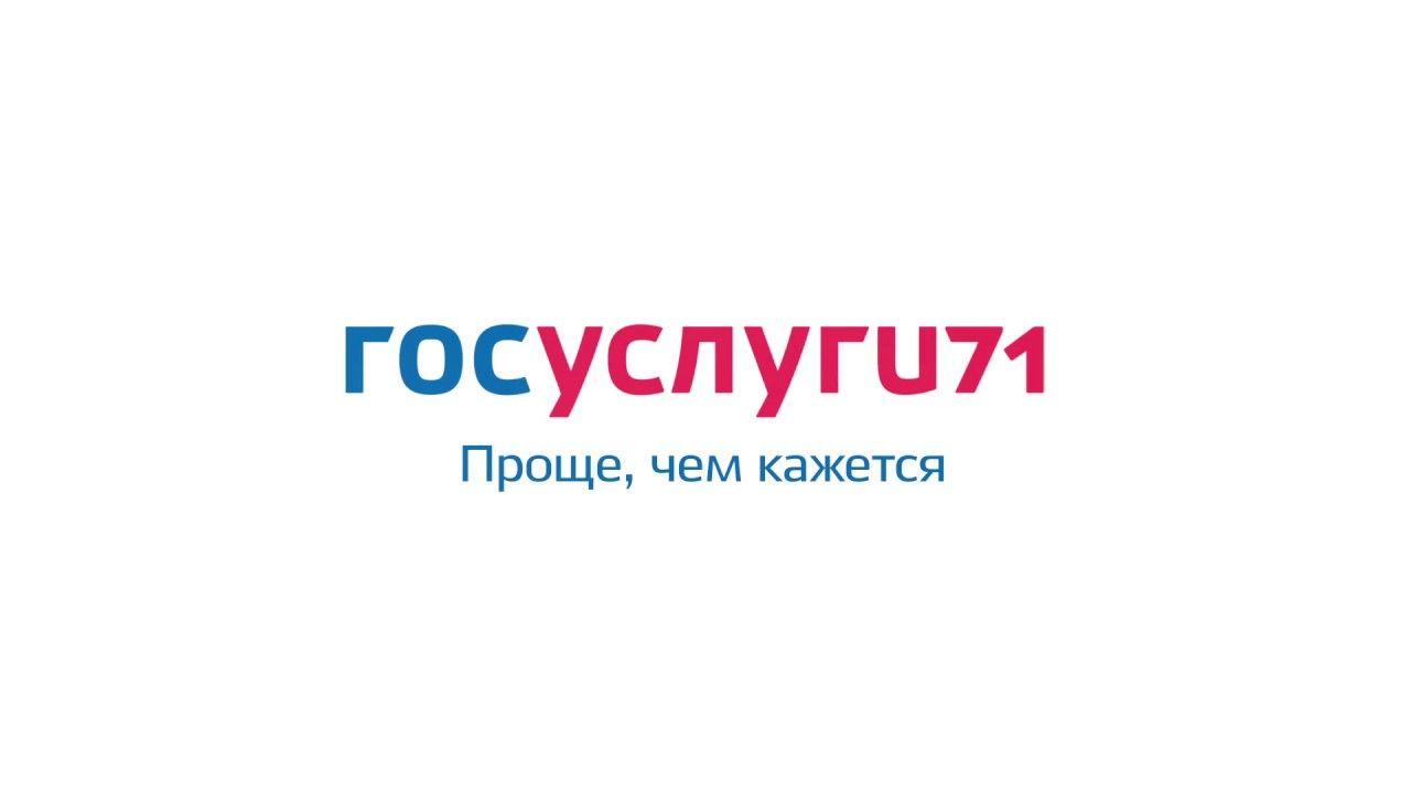 Информация о портале «Госуслуги 71»