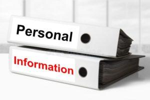 Персональная информация